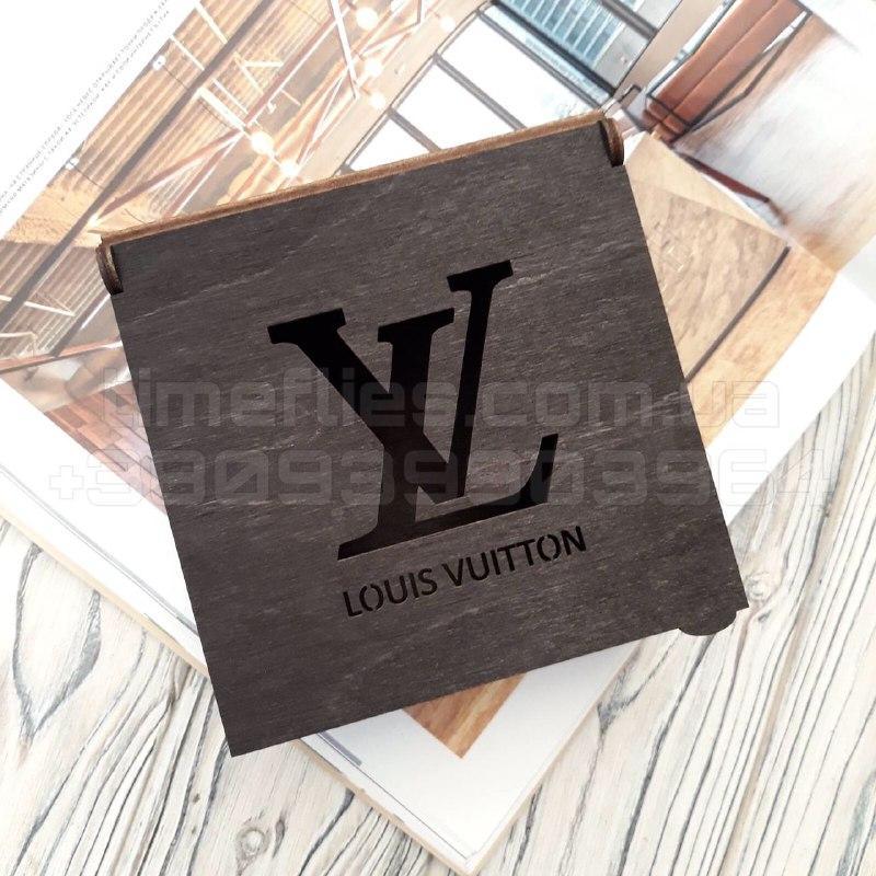 Деревянная коробка для ремня Louis Vuitton