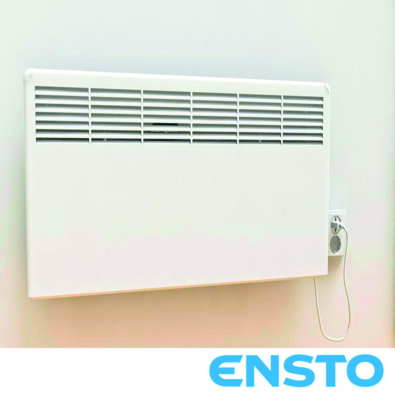 Электрический обогреватель-конвектор Ensto BETA Е 1000 Вт с  электронным термостатом и вилкой