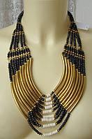 Ожерелье женское колье ручная работа бижутерия 4181