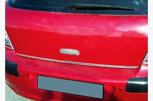 Кромка багажника (нерж.) - Peugeot 307