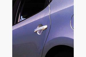 Накладки на ручки (4 шт., нерж) OmsaLine - Итальянская нержавейка - Hyundai I-30 2007-2011 гг.