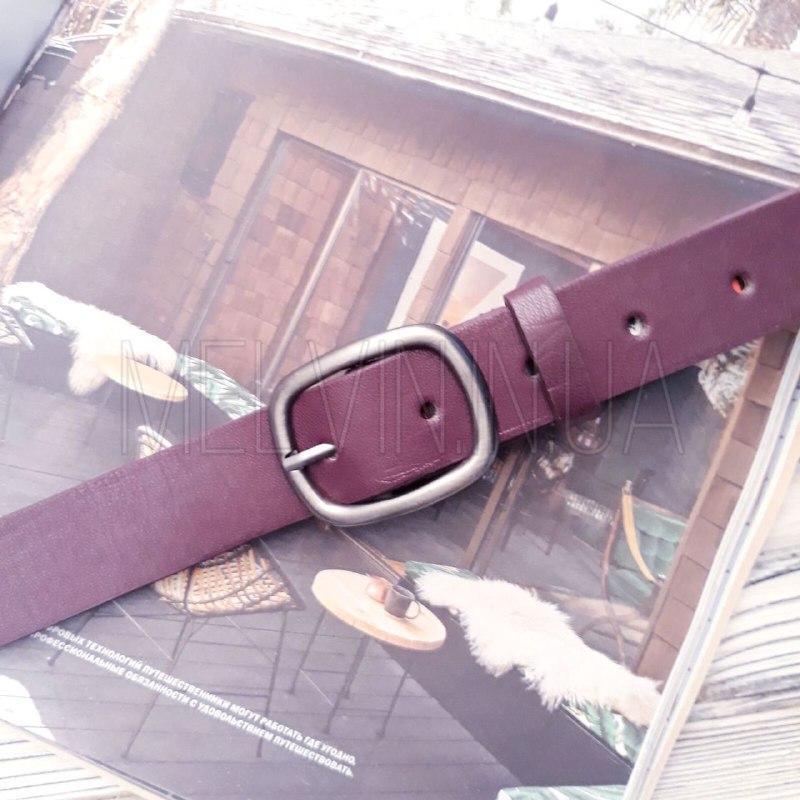 Женский кожаный ремень Фиолетовый