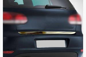Кромка багажника (нерж) - Volkswagen Polo 2001-2009 гг.