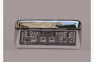 Накладка над номером (нерж.) - Ford Transit 2000-2014 гг.