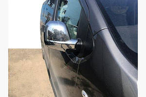 Накладки на зеркала (2 шт., пласт.) Carmos - Peugeot Expert 2017↗ гг.