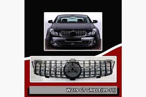 Передняя решетка (2009-2011, Maybach) - Mercedes CLS C219 2004-2010 гг.