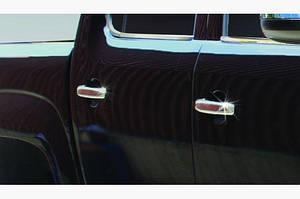 Накладки на ручки (4 шт, нерж) OmsaLine - Итальянская нержавейка - Volkswagen Amarok