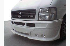 Передний бампер 4 фары (под покраску) - Volkswagen LT 1998↗ гг.