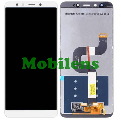 Xiaomi Mi A2, Mi6X, M1804D2SG Дисплей+тачскрин(модуль) белый, фото 2