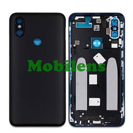 Xiaomi Mi A2, Mi6X, M1804D2SG Задняя крышка черная, фото 2