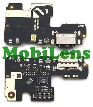 Xiaomi Mi A3, Mi CC9E, M1906F9SH Шлейф-плата з роз'ємом зарядки і мікрофоном, фото 2