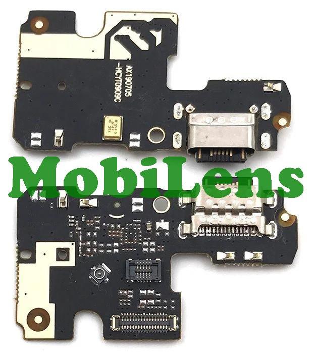 Xiaomi Mi A3, Mi CC9E, M1906F9SH Шлейф-плата з роз'ємом зарядки і мікрофоном