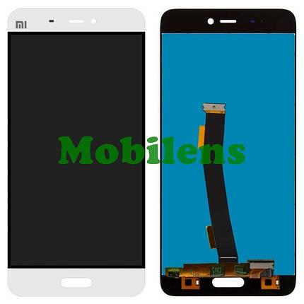 Xiaomi Mi5, Mi5 Pro Дисплей+тачскрін(модуль) білий, фото 2