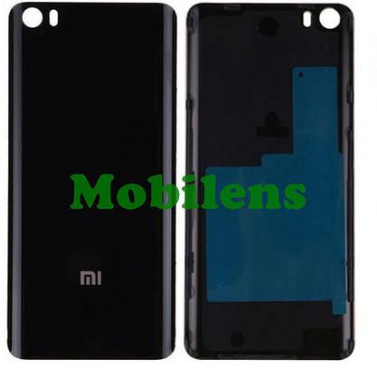 Xiaomi Mi 5 Задня кришка чорна Original *PRC, фото 2