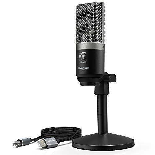 Cтудийный конденсаторный микрофон FIFINE K670 для записи на Mac и Windows