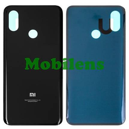 Xiaomi Mi8, Mi 8, M1803E1A Задняя крышка черная, фото 2