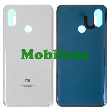 Xiaomi Mi8, Mi 8, M1803E1A Задня кришка біла, фото 2