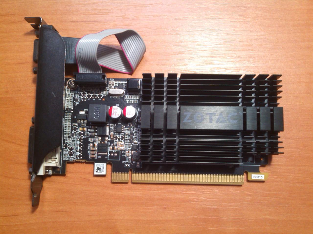 Zotac GT 710 2GB 64bit GDDR3 HDMI PCI-E Гарантія!