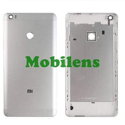 Xiaomi Mi Max Задняя крышка серебристая, фото 2