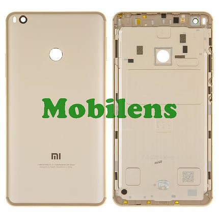Xiaomi Mi Max 2, MDE40 Задняя крышка золотистая, фото 2