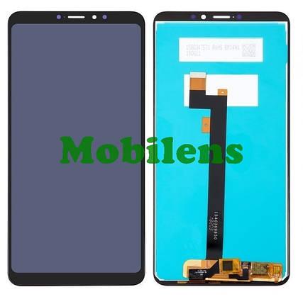 Xiaomi Mi Max 3 Дисплей+тачскрин(модуль) черный, фото 2