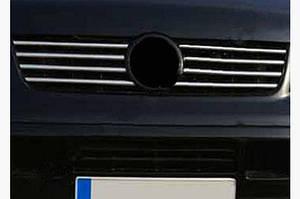 Накладки на решетку (нерж) - Opel Vectra B 1995-2002 гг.