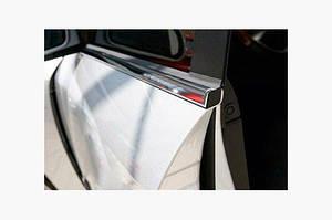 Окантовка окон (4 шт, нерж) - Opel Vectra B 1995-2002 гг.