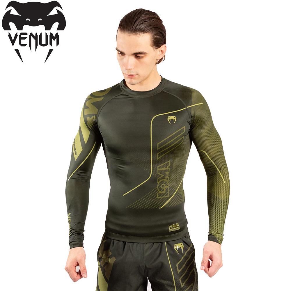 Рашгард мужской Venum Loma Commando Rashguard Long Sleeves Khaki