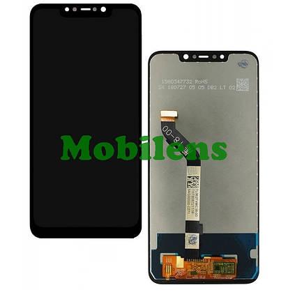 Xiaomi Pocophone F1, M1805E10A Дисплей+тачскрін(модуль) чорний HighCopy, фото 2