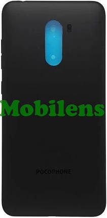 Xiaomi Pocophone F1 Задняя крышка черная, фото 2