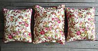 Подушка декоративная из ткани прованс