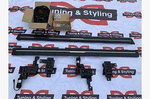 Боковые пороги с выездным механизмом (2 шт., алюминий) - Land Rover Discovery Sport