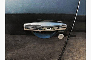 Накладки на ручки (4 шт, нерж) - Nissan Terrano 2014↗ гг.