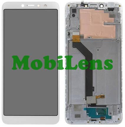 Xiaomi Redmi S2, M1803E6G, Redmi Y2 Дисплей+тачскрин(модуль) белый *в рамке, фото 2