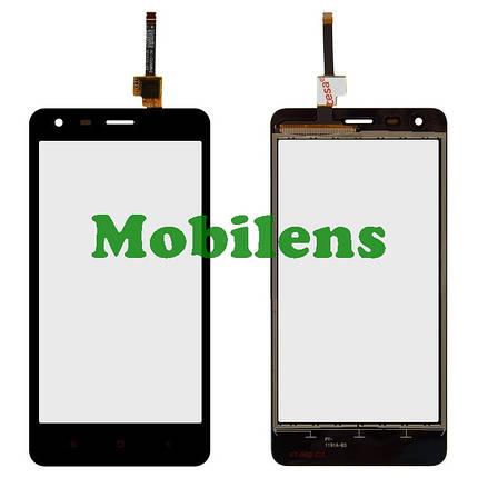 Xiaomi Redmi 2, 2014CP5147, HM2014817, (HM 2LTE-CU) Тачскрин (сенсор) черный, фото 2