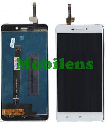 Xiaomi Redmi 3, Redmi 3S, Redmi 3X, Redmi 3 Pro, 2016031, 2015815 Дисплей+тачскрін(модуль) білий, фото 2