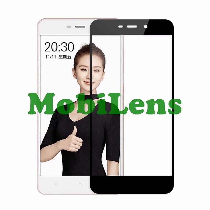 Xiaomi Redmi 4A Захисне скло чорне