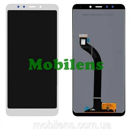 Xiaomi Redmi 5, MDG1, MDT1, MDE1 Дисплей+тачскрін(модуль) білий Original *PRC, фото 2