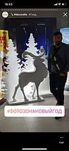 Новогодний и фигурный декор для витрин 5
