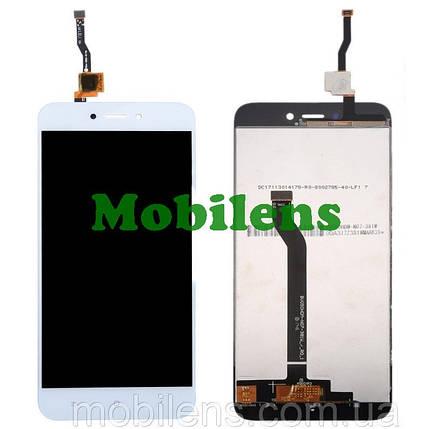 Xiaomi Redmi 5A, MCT3B, MCG3B  Дисплей+тачскрин(модуль) белый, фото 2