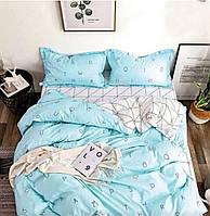 Комплект постельного полуторного белья бязь Gold