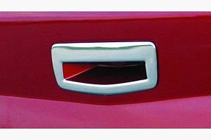 Накладка на ручку багажника (SD, нерж) - Renault Megane II 2004-2009 гг.
