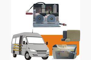 Электро дверь (2 моторный) - Nissan Interstar 2004-2010 гг.