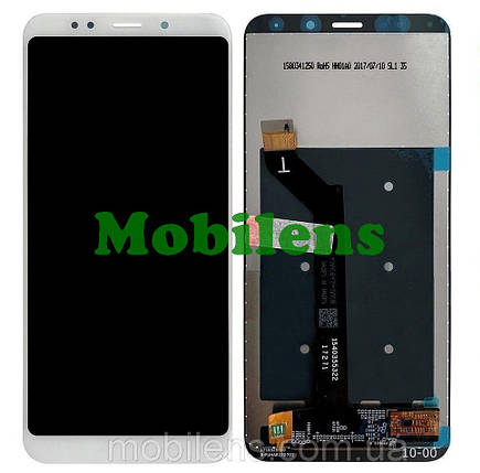 Xiaomi Redmi 5 Plus, MEE7, MEG7 Дисплей+тачскрин(модуль) белый, фото 2