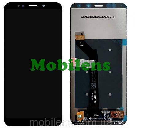 Xiaomi Redmi 5 Plus, MEE7, MEG7 Дисплей+тачскрін(модуль) чорний Original *PRC, фото 2