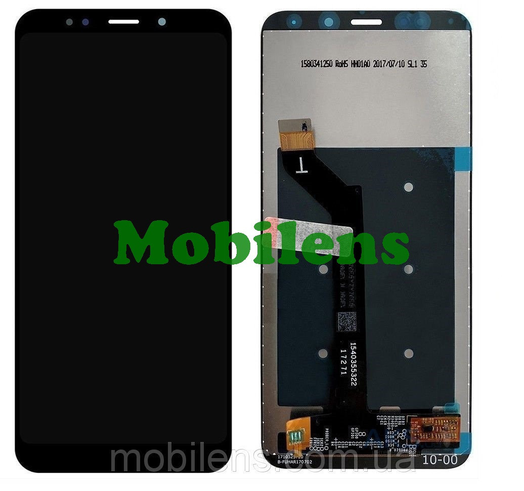Xiaomi Redmi 5 Plus, MEE7, MEG7 Дисплей+тачскрін(модуль) чорний Original *PRC