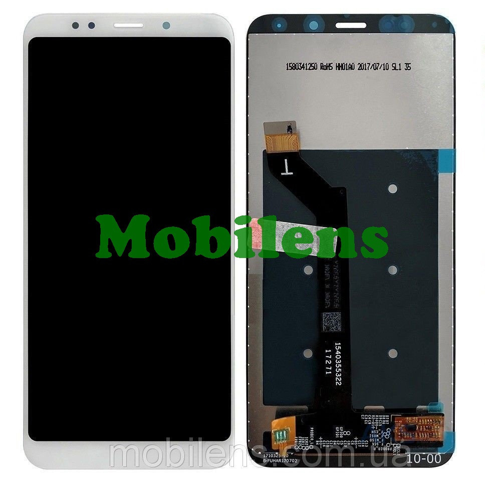 Xiaomi Redmi 5 Plus, MEE7, MEG7 Дисплей+тачскрин(модуль) белый Original *PRC
