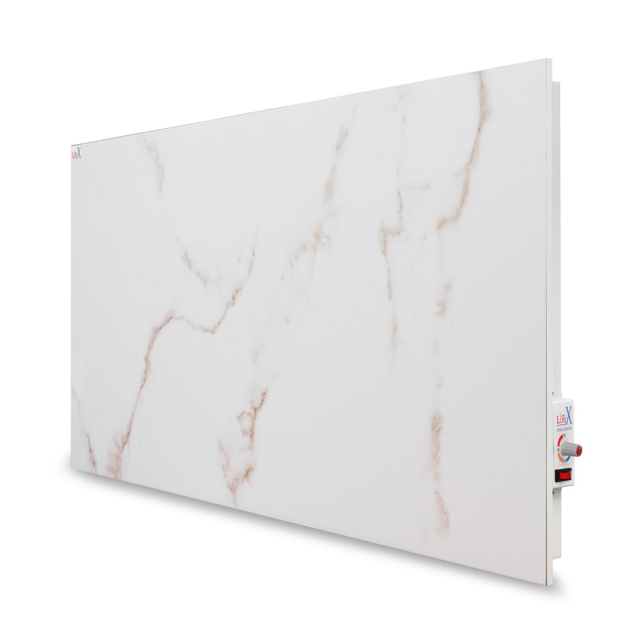 Керамическая панель LIFEX 1400 Вт Bio-air (белый мрамор) механика