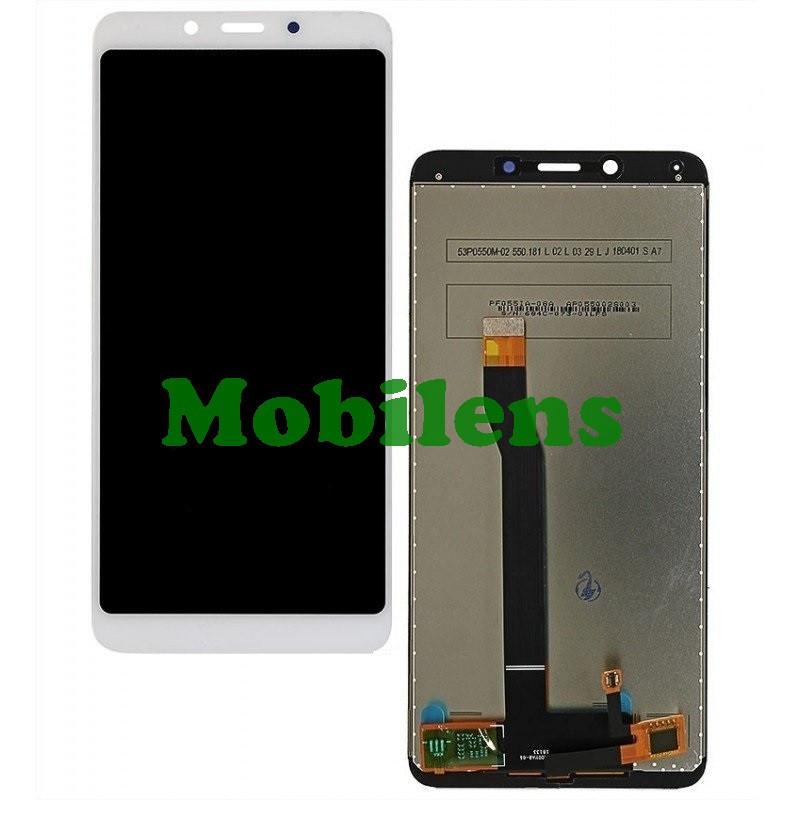 Xiaomi Redmi 6, Redmi 6A, M1804C3CG Дисплей+тачскрин(модуль) белый Original *PRC