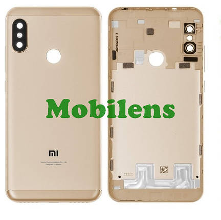 Xiaomi Redmi 6 Pro, Mi A2 Lite M1805D1SG Задня кришка золотиста, фото 2